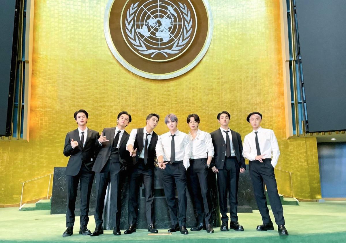 BTS 国連本部 パフォーマンス